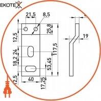 Enext i0050005 шина e.industrial.ukm.630s.busbar
