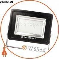 Прожектор светодиодный евросвет 200Вт 6400К EV-200-01 PRO 18000Лм HM