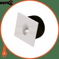 Светильник лестничный LED 3W 4000К 86Lm 185-264V 80 * 80мм.квадратний белый
