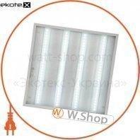Світильник світлодіодна панель ЕВРОСВЕТ 36Вт PRISMATIC LED-SH-595-20 6400K 3000Лм