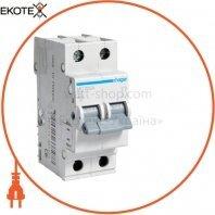 Автоматический выключатель 2P 6kA C-2A 2M