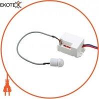 Датчик движения инфракрасный e.sensor.pir.24.white, 360 °, белый