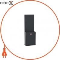 Pedestal, EVlink, for DC charging station 24 kW single connector