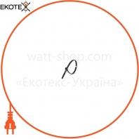 Стяжка кабельная 4 * 200 черная (100 шт)