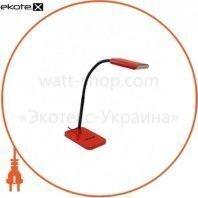 Світильник світлодіодний настільний Delux TF-230 червоний