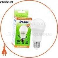 лампа светодиодная DELUX BL60 15Вт Е27 3000K теплый белый