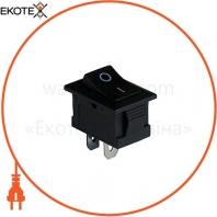 Клавишный переключатель ENERGIO KCD1-101 Bk/Bk ON-OFF 1 клавиша