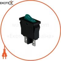 Клавишный переключатель ENERGIO KCD1-12-101 Gr/Bk ON-OFF 1 клавиша