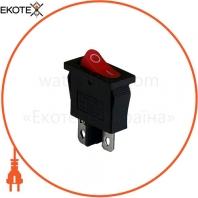Клавишный переключатель ENERGIO KCD1-12-101 Rd/Bk ON-OFF 1 клавиша