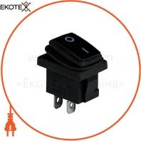 Клавишный переключатель ENERGIO KCD1-2-101W Bk/Bk ON-OFF 1 клавиша IP65