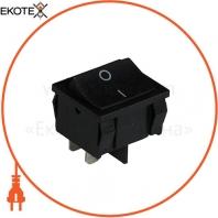 Клавишный переключатель ENERGIO KCD1-6-201 Bk/Bk ON-OFF 1 клавиша
