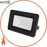Прожектор светодиодный e.LED.flood.30.6500, 30Вт, 6500К