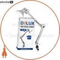 Светильник настольный DELUX TF-06_E27 серебро
