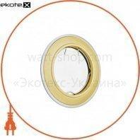 Светильник точечный_DELUX_HDL160022_MR16 G5.3 золото мат-хром