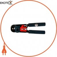 Инструмент e.tool.crimp.ht.208.m для обжима коннекторов, зачистки и резки кабеля