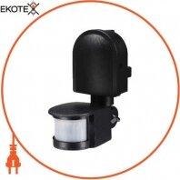 Датчик движения инфракрасный.sensor.pir.10F.black (черный), 180°, IP44