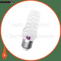 Лампа энергосберегающая ES-10 15W 4000K E27  17-0008