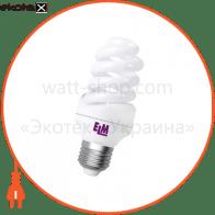 Лампа энергосберегающая ES-12 15W 4000K E27  17-0086