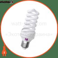 Лампа энергосберегающая ES-12 25W 4000K E27  17-0046