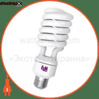 Лампа энергосберегающая ES-15 65W 4000K E40  17-0076