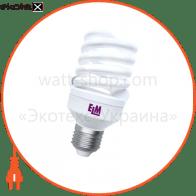 Лампа энергосберегающая ES-19 25W 4000K E27 17-0122
