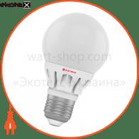Лампа светодиодная глоб D60 LG-8 6W E27 4000K алюминиевый корп.  A-LG-0557