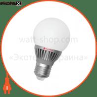 Лампа светодиодная глоб LG-14 6W E27 4000K алюм. корп.  A-LG-0665