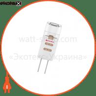 Лампа светодиодная капсула LC-2 1,5W GU4 12V 3000K пласт. корп. A-LC-0145