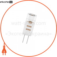 Лампа светодиодная капсула P41 1,5W GU4 12V 3000K пласт. корп. 18-0035