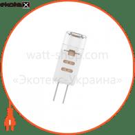 Лампа светодиодная капсула P41 1,5W GU4 12V 4000K пласт. корп. 18-0036