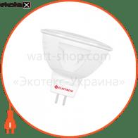 Лампа светодиодная MR-16 LR-10 7W GU5,3 4000K алюмопл. корп. A-LR-1846