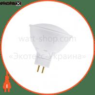 Лампа светодиодная MR-16 LR-12 3W GU5,3 2700K пласт. корп.  A-LR-1820