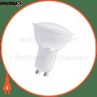 Лампа светодиодная MR-16 LR-25 6W GU10 2700K пласт. корп. A-LR-1822