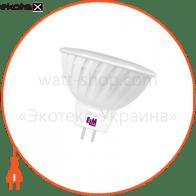Лампа светодиодная MR-16 P-31 3W GU5,3 4000K пласт. корп. 18-0010