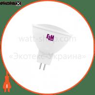 Лампа светодиодная MR-16 P11 3W GU5,3 2700K пл. корп. 18-0029
