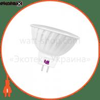 Лампа светодиодная MR-16 P31 3W GU5,3 2700K пл. корп. 18-0008