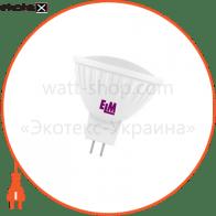 Лампа светодиодная MR-16 PA-21 5W GU5,3 4000K алюмопласт. корп. 18-0003