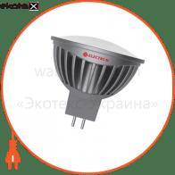 Лампа светодиодная MR16 LR-20 5W GU5,3 4000K алюм. корп. A-LR-1764