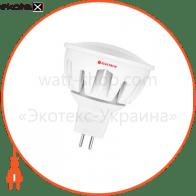 Лампа светодиодная MR16 LR-28 7W GU5,3 4000K алюм. корп. A-LR-0081