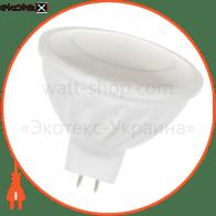 Лампа светодиодная MR16 LR-9 4W GU5,3 4000K керам. корп.  A-LR-0087