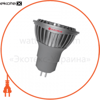 Лампа светодиодная MR16 LR-C 6W GU5.3 4000K алюм. корп.  A-LR-0939