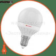 Лампа светодиодная шар LB-10 4W E14 2700K алюмопласт. корп. A-LB-0532