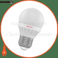 Лампа светодиодная шар LB-10 4W E27 4000K алюмопласт. корп. A-LB-0524