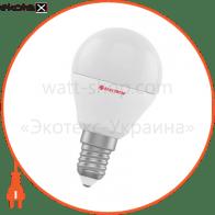 Лампа светодиодная шар LB-12 6W E14 3000K алюмопласт. корп. A-LB-1008