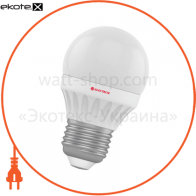 Лампа светодиодная шар LB-12 6W E27 2700K алюмопласт. корп. A-LB-0750