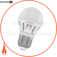 Лампа светодиодная шар LB-14 6W E27 2700K алюм. корп. A-LB-0307