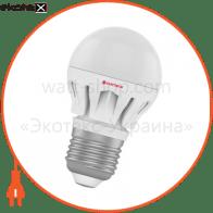 Лампа светодиодная шар LB-14 6W E27 4000K алюм. корп. A-LB-0308