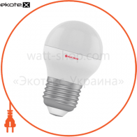 Лампа светодиодная шар LB-3 3W E27 4000K алюмопласт. корп. A-LB-1843