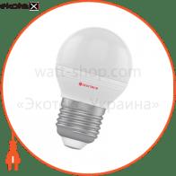 Лампа светодиодная шар LB-32 6W E14 3000K алюмопласт. корп. A-LB-1407