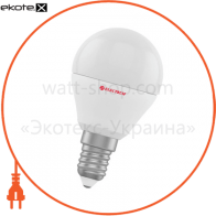 Лампа светодиодная шар LB-4 4W E14 3000K алюмопласт. корп. A-LB-1393